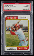 Baseball Cards:Singles (1970-Now), 1974 Topps Luis Alvarado #462 PSA Gem Mint 10....