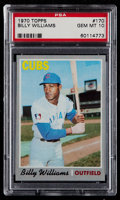 Baseball Cards:Singles (1970-Now), 1970 Topps Billy Williams #170 PSA Gem Mint 10....