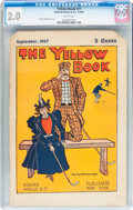 Platinum Age (1897-1937):Miscellaneous, The Yellow Book #11 (Howard Ainslee & Co., 1897) CGC GD 2.0 White pages....