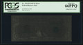 Error Notes:Ink Smears, Fr. 1921-B $1 1995 Federal Reserve Note. PCGS Gem New 66PPQ.. ...