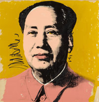 ANDY WARHOL (American, 1928-1987) Mao, 1972 Screenprint in colors on wove paper 36 x 36 inches (9