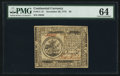 Continental Currency November 29, 1775 $5 PMG Choice Uncirculated 64