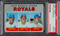 Baseball Cards:Singles (1970-Now), 1970 Topps Royals Rookies #552 PSA Mint 9....