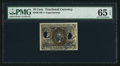 Fractional Currency:Second Issue, Milton 2E10F.4 10¢ Second Issue Experimental PMG Gem Uncirculated 65 EPQ.. ...