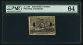 Fractional Currency:Second Issue, Milton 2E25F.3a 25¢ Second Issue Experimental PMG Choice Uncirculated 64.. ...