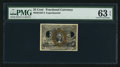 Fractional Currency:Second Issue, Milton 2E25F.6 25¢ Second Issue Experimental PMG Choice Uncirculated 63 EPQ.. ...