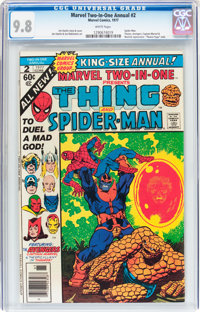 Marvel Two-In-One Annual #2 The Thing and Spider-Man (Marvel, 1977) CGC NM/MT 9.8 White pages