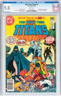 Modern Age (1980-Present):Superhero, New Teen Titans #2 (DC, 1980) CGC NM/MT 9.8 White pages....