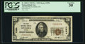 National Bank Notes:Nevada, Lovelock, NV - $20 1929 Ty. 1 The First NB Ch. # 7654. ...