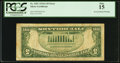 Error Notes:Inverted Reverses, Fr. 1651 $5 1934A Silver Certificate. PCGS Fine 15.. ...
