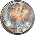 1885 10C MS67+ PCGS Secure. Gold CAC. F-111, R.4....(PCGS# 4694)
