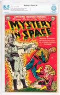 Golden Age (1938-1955):Science Fiction, Mystery in Space #4 (DC, 1951) CBCS VF+ 8.5 Off-white to whitepages....