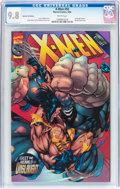 Modern Age (1980-Present):Superhero, X-Men #50 Speckle Foil Edition (Marvel, 1996) CGC NM/MT 9.8 White pages....
