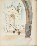 Books:Art & Architecture, [Spain]. Vernon Howe Bailey. Little Known Towns of Spain. Watercolors and Drawings. New York: William Helburn, [1926...