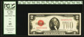 Error Notes:Inverted Reverses, Fr. 1501 $2 1928 Legal Tender Note. PCGS Fine 15.. ...
