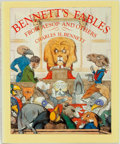 Books:Children's Books, [Children's]. Charles H. Bennett. Bennett's Fables from Aesopand Others. Foreword by Gerald Gottlieb. New York: The...