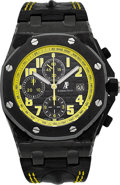 "Timepieces:Wristwatch, Audemars Piguet Royal Oak Offshore ""Bumblebee"" Ref. 26176FO, Fine Self-Winding Chronograph. ..."