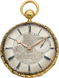 Timepieces:Pocket (pre 1900) , Vacheron & Constantin Early Gold Quarter Hour Repeater, circa1835. ...