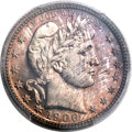 Proof Barber Quarters, 1906 25C PR66 Cameo PCGS....