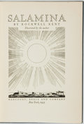Books:Travels & Voyages, Rockwell Kent. Salamina. New York: Harcourt, Brace and Company, 1935. First edition. ...