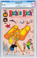 Bronze Age (1970-1979):Humor, Richie Rich #107 (Harvey, 1971) CGC NM 9.4 Off-white pages....
