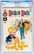 Bronze Age (1970-1979):Humor, Richie Rich #111 (Harvey, 1971) CGC NM 9.4 Off-white to whitepages....
