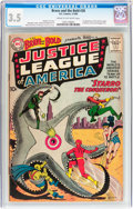 Silver Age (1956-1969):Superhero, The Brave and the Bold #28 Justice League of America (DC, 1960) CGCVG- 3.5 Cream to off-white pages....