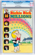 Bronze Age (1970-1979):Cartoon Character, Richie Rich Millions #56 File Copy (Harvey, 1972) CGC NM+ 9.6Off-white to white pages....