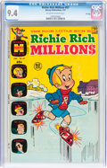 Bronze Age (1970-1979):Cartoon Character, Richie Rich Millions #57 File Copy (Harvey, 1973) CGC NM 9.4Off-white to white pages....