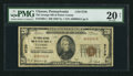 National Bank Notes:Pennsylvania, Ulysses, PA - $20 1929 Ty. 1 The Grange NB of Potter County Ch. #8739. ...