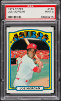 Baseball Cards:Singles (1970-Now), 1972 Topps Joe Morgan #132 PSA Mint 9....