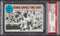 Baseball Cards:Singles (1970-Now), 1970 Topps NLCS Game 3 Ryan Saves The Day! #197 PSA Mint 9....