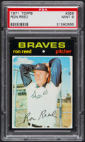 Baseball Cards:Singles (1970-Now), 1971 Topps Ron Reed #359 PSA Mint 9....