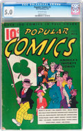 Platinum Age (1897-1937):Miscellaneous, Popular Comics #3 (Dell, 1936) CGC VG/FN 5.0 Off-white pages....