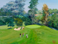 Post-War & Contemporary:Contemporary, Mark King (American, b. 1931). Bel Air Country Club, 17thHole, 1991. Acrylic on canvas. 30 x 40 inches (76.2 x 101.6cm...