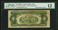 Error Notes:Inverted Reverses, Fr. 1504 $2 1928C Legal Tender Note. PMG Fine 12.. ...