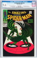 Silver Age (1956-1969):Superhero, The Amazing Spider-Man #63 (Marvel, 1968) CGC NM+ 9.6 Off-whitepages....