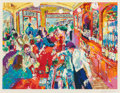 Prints, Leroy Neiman (American, 1921-2012). Buena Vista Bar, 1986. Screenprint in colors. 28 x 37 inches (71.1 x 94.0 cm). Ed. 2...