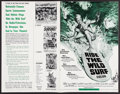 """Movie Posters:Sports, Ride the Wild Surf & Others Lot (Columbia, 1964). Uncut Pressbooks (4) (Multiple Pages, 11"""" X 17""""). Sports.. ... (Total: 4 Items)"""
