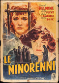 """Movie Posters:Foreign, Cage of Girls (Minerva, 1950). Italian 2 - Foglio (39"""" X 55""""). Foreign.. ..."""