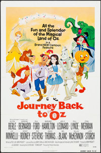 "Journey Back to Oz & Others Lot (Filmation, 1974). One Sheets (3) (27"" X 41""), Mini Lobby Cards (2) (8..."