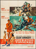 "Movie Posters:James Bond, Thunderball (United Artists, 1965). French Grande (47"" X 63"").James Bond.. ..."