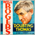 "Movie Posters:Comedy, Doubting Thomas (Fox, 1935). Six Sheet (78"" X 80""). Comedy.. ..."