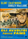 "Movie Posters:Western, Two Mules for Sister Sara (Universal, 1970). Italian Foglio (26"" X 36.5""). Western.. ..."