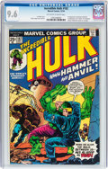Bronze Age (1970-1979):Superhero, The Incredible Hulk #182 (Marvel, 1974) CGC NM+ 9.6 Off-white to white pages....