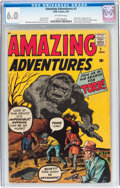Silver Age (1956-1969):Horror, Amazing Adventures #1 (Marvel, 1961) CGC FN 6.0 Off-white pages....