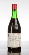 Domestic Pinot Noir, Wente Brothers Pinot Noir 1943 . . 4.5cm, lscl, wisl, good color.Bottle (1). ... (Total: 1 Btl. )