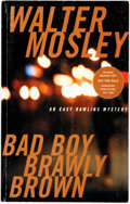 Books:Mystery & Detective Fiction, Walter Mosley. SIGNED/ADVANCED READING COPY. Bad Boy BrawlyBrown. Boston: Little, Brown and Company, [2002]....