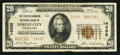 National Bank Notes:Pennsylvania, Forest City, PA - $20 1929 Ty. 2 The First & Farmers NB Ch. #14205. ...