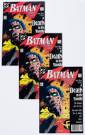 Modern Age (1980-Present):Superhero, Batman #428 Group of 12 (DC, 1988) Condition: Average NM-....(Total: 12 )
